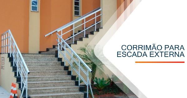 Corrimão para Escada Externa BH