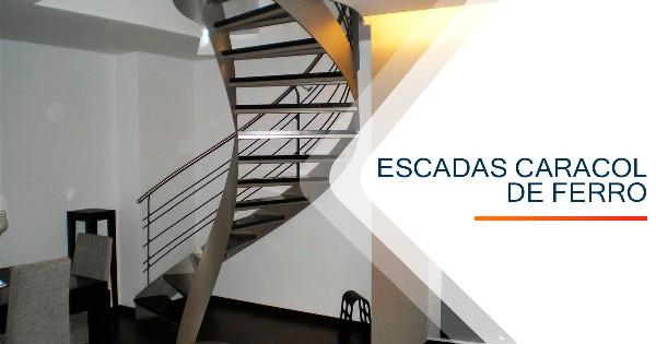 Escadas Caracol Ferro BH